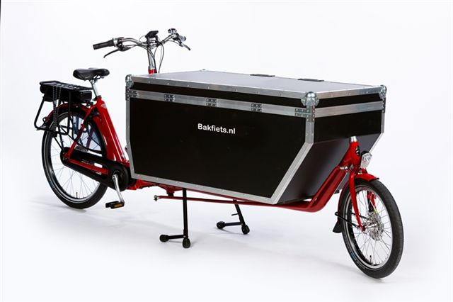 Cargobike XL Steps Met  Flightcase