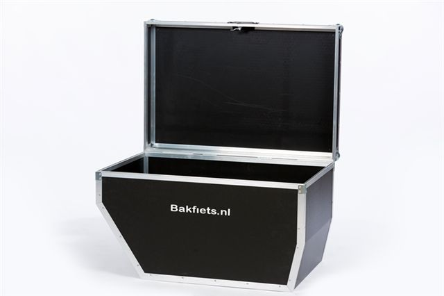 Bakfiets Flightcase open