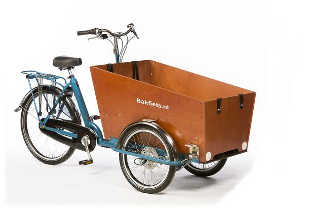 Cargo Trike Smal petrolblauw